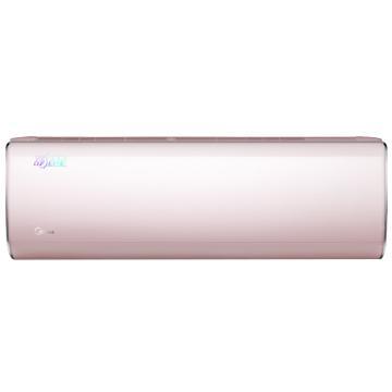 美的 舒适星1匹全直流变频冷暖空调挂机,KFR-26GW/BP3DN1Y-TA201(B2)冰莹粉,二级能效,区域限售