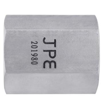 "JPE BS4-HCG01-R 六角双内牙,1/8""PT不锈钢304"