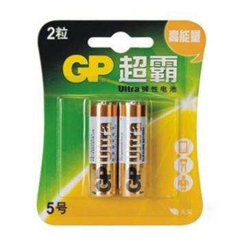 超霸 5号电池,碱性 AA  2节/卡 单位:卡