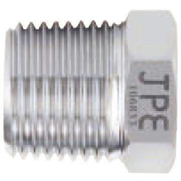 "JPE BS4-PTH04-N SS304公牙塞头 1/2"",NPT螺纹"