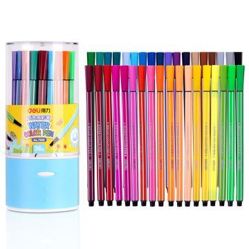 得力 水彩笔(36色),7068 单位:桶