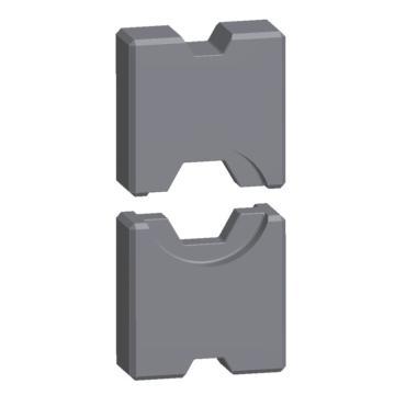 魏德米勒六角压接模,压接宽度5mm,1500980000
