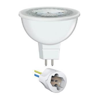 欧司朗 220V LED射灯光源MR16 50 S 7.5W 36˚GU5.3 S含灯杯和底座黄光 7.5W(替代6.5W),单位:个