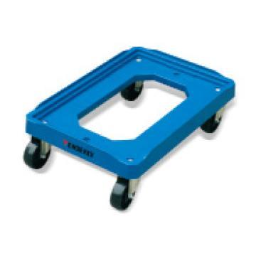 泰得力 150Kg 塑料周转箱万向移动车,适用外形尺寸小于600*400mm并大于300*300mm的周转箱,型号 PD150