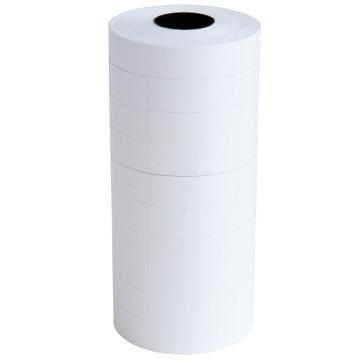 得力(deli) 通用雙排標價紙, 23×16mm×700張 10卷/筒 3209 單位:筒