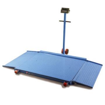 泰得力 1500Kg 可移动式地磅(带可折叠斜坡),平台尺寸:1500*1500mm,型号 NC1500C