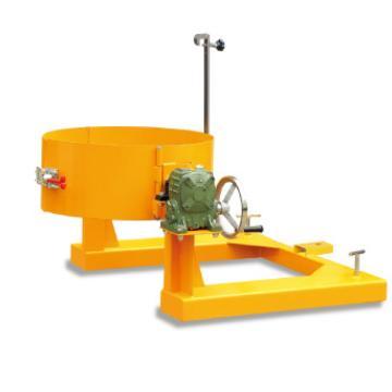 泰得力 300Kg 油桶翻转夹(叉车专用),手摇齿轮翻转机构,叉孔尺寸155*55mm,两叉口内边距离680mm,适用于桶径Φ570-600mm的硬质塑料桶或钢桶,型号 HK285C