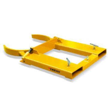 泰得力 油桶搬运夹(抱式),钢制或塑料单桶,可调(叉车专用),型号 DG40