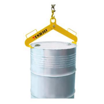 泰得力 500Kg A型油桶吊夹(双夹式),适用于210升/55加伦钢桶,DL500A
