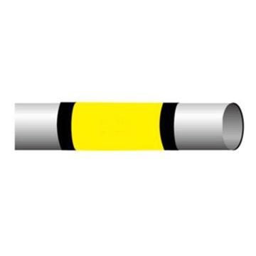 贝迪BRADY 管道标识带,101.6mm×55m,黄色