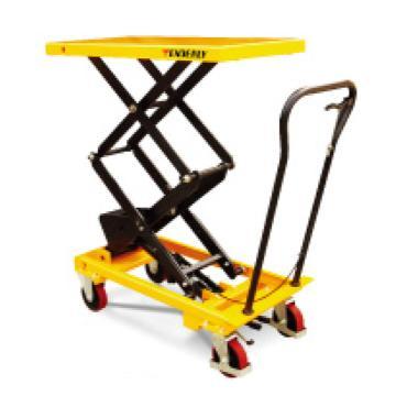 泰得力 350Kg 脚踏式升降平台车(标准型),台面920*520mm,高度435-1500mm,型号 AS35D