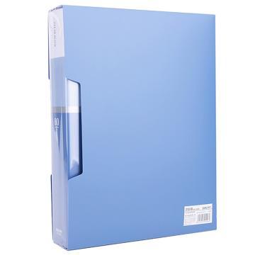 得力(deli) A4资料册 透明活页试卷夹文件夹,5006(80页) 单位:本