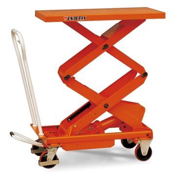 泰得力 双剪重型脚踏式液压升降平台车 载重(kg):800 起升范围(mm):470-1410,BS80D