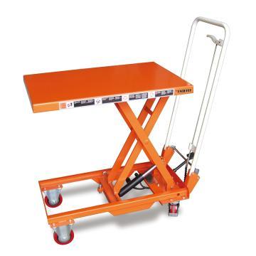 泰得力 脚踏式升降平台车(重型),载重(kg):150 台面700*450mm 高度265-755mm,BS15