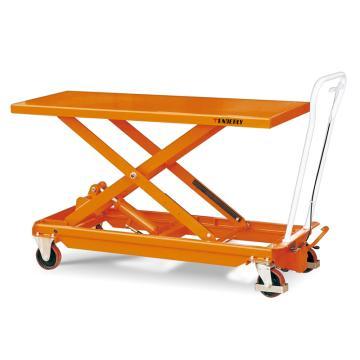 泰得力 大台面脚踏式液压升降平台车,载重(kg):150 起升范围(mm):425~1225,BS100L