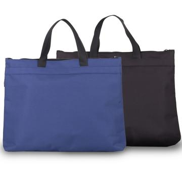 得力(deli) 帆布手提袋文件袋檔案袋公文包公文袋A4風琴包 藍色(加厚型) ,5845 單位:個