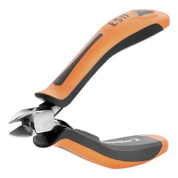 魏德米勒带指针防静电斜剪钳,0.4-1.5mm,SEE ESD 120(9205130000)