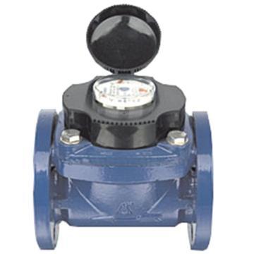 埃美柯/AMICO 鐵殼可拆卸螺翼干式熱水表,LXLGR-50E,法蘭連接,銷售代號:070-DN50