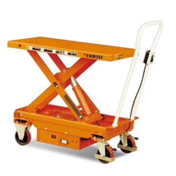 单剪电动升降平台车,载重(kg):500,起升范围(mm):450~950