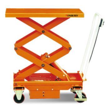 泰得力 双剪电动升降平台车,载重(kg):500,起升范围(mm):495~1618