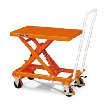 泰得力 弹簧自重式升降平台车 载重(kg):100-400 台面长1010*宽520*高度范围440-800mm,BC40
