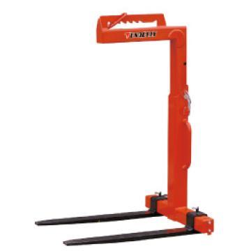 泰得力 1吨 手动平衡吊叉(高度可调),有效可调高度h=1100-1600mm,货叉长度1000mm,货叉可调宽度350-900mm,型号 CK10
