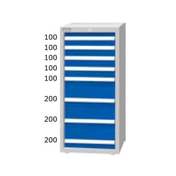 重量型工具柜,高H*宽W*深D:1200*566*607,抽屉荷重(kg):100kg,EA-12081