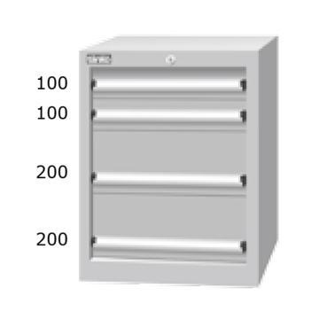 天钢 标准型工具柜,高H*宽W*深D:725*566*607,抽屉荷重(kg):50,EHA-7041