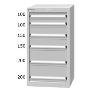 天钢 标准型工具柜,高H*宽W*深D:1025*566*607,抽屉荷重(kg):50,EHA-10061