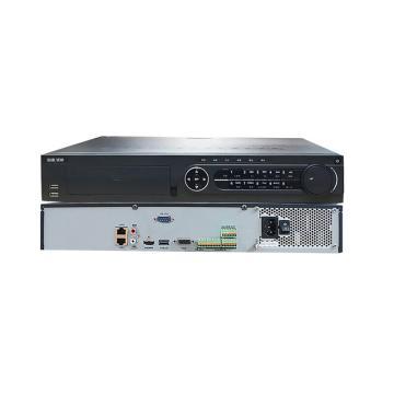 海康威视 32路4K高清网络硬盘录像机,支持H.265,4硬盘位, DS-7932N-K4