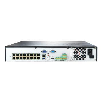 海康威视 16路4K高清监控硬盘录像机,4硬盘位,带POE供电,DS-7916N-K4/16P
