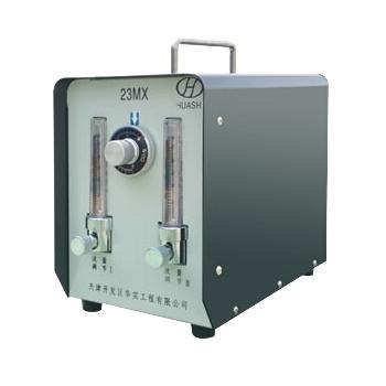 华实一拖二混合气体配比器23MX-2,氩气+氧气,适合不锈钢焊接