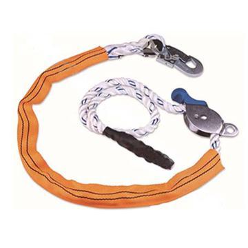 代尔塔DELTAPLUS 限位系绳,502118,水平定位安全绳