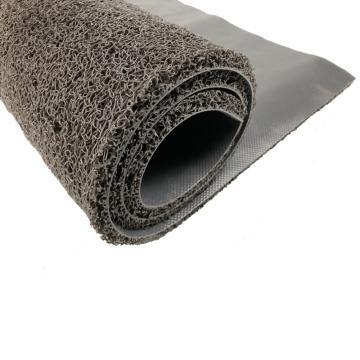 细丝有底圈丝控尘地垫 灰色 1.2m*1.8m*11mm