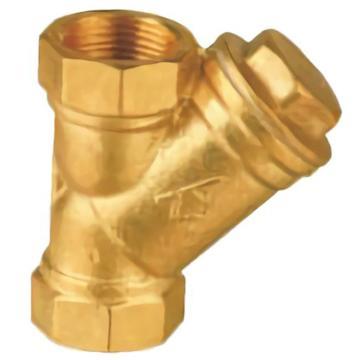 埃美柯/AMICO 黄铜丝口重型过滤器,SY11-16T,606-DN15,18目