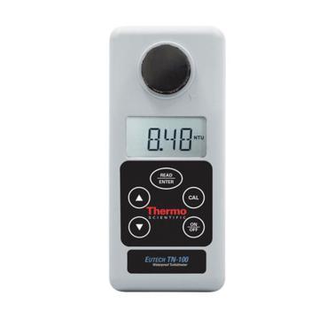 便携式浊度计,防水型TN 100红外浊度仪(NTU)校准用具、样品池和手提箱,TN100