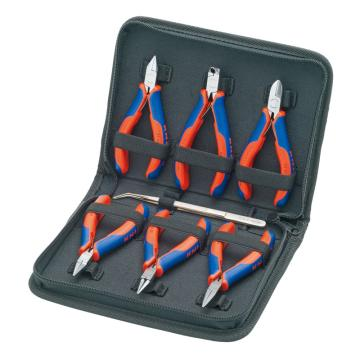 凱尼派克 Knipex 電子剪鉗組套,7件套,00 20 16