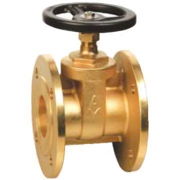 埃美柯/AMICO 黃銅法蘭閘閥,Z45W-16T,106-DN40