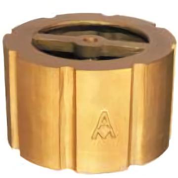 埃美柯/AMICO 黄铜法兰对夹式消声止回阀,H72X-16T,415-DN65