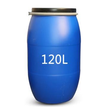 STORAGEMAID 120L拉緊環開口塑料桶(藍色),外形尺寸(mm):φ510*800