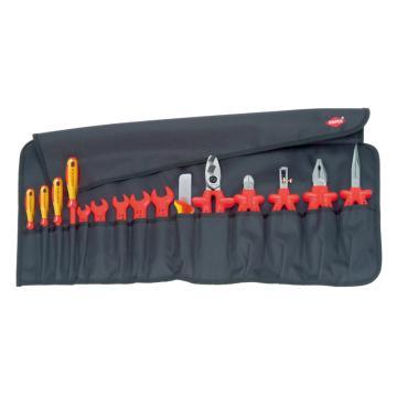 凯尼派克 Knipex 绝缘工具套装,15件套, 98 99 13
