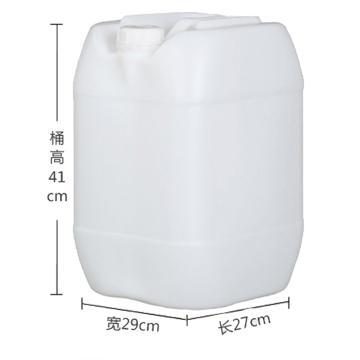 STORAGEMAID 25L小口塑料长方桶(白色),外形尺寸(mm):270*290*410