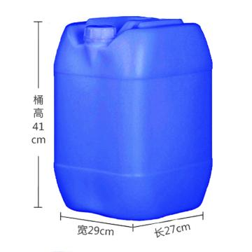STORAGEMAID 25L小口塑料長方桶(藍色),外形尺寸(mm):270*290*410