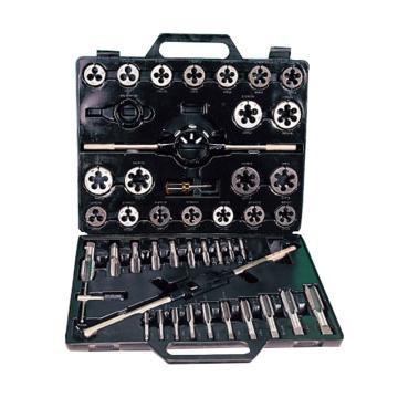 银燕 丝锥板牙组套,45件公制,M3-M16