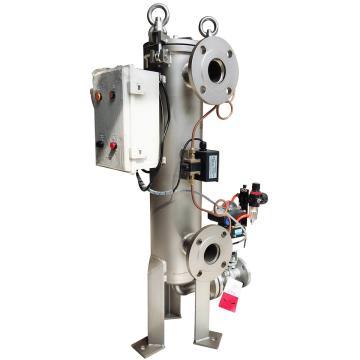 SAM SBF全自動自潔過濾器,SAM-SBF150,配濾網數量1,過濾精度100μm,最大流量30m3/h,進出口DN50