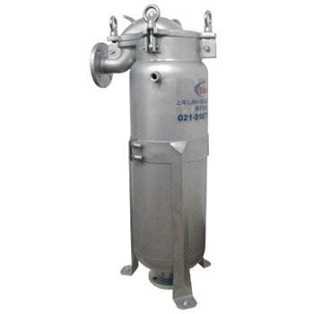 SAM 夾層保溫單袋式過濾器,SAM-1J,最大流量20m3/h,進出口徑DN50,材質不銹鋼304,需另配1#濾袋