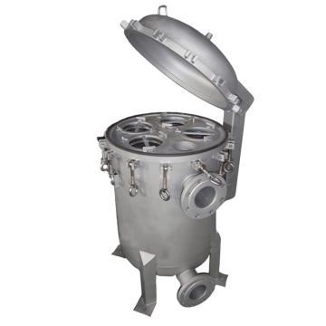 SAM 多袋蚌開過濾器,SAM-M6D,濾袋數6,最大流量270m3/h,進出口DN150,不銹鋼304,需另配2#濾袋