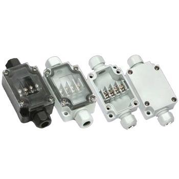 誉霖 灯具用防水接线盒 连体端子接线盒 YL-6P-L 一进一出 IP66 含M12格兰头