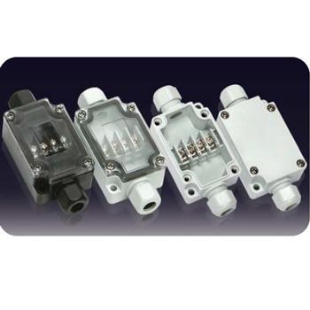 誉霖 灯具用防水接线盒 连体端子接线盒 YL-4P-L 一进一出 IP66 含M12格兰头