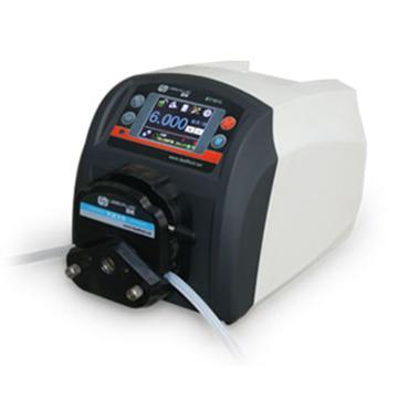 流量智能型蠕动泵,BT601L(流线型塑料机箱)泵头YZ15,单通道流量(毫升/分钟)0.006~2300,通道数量1